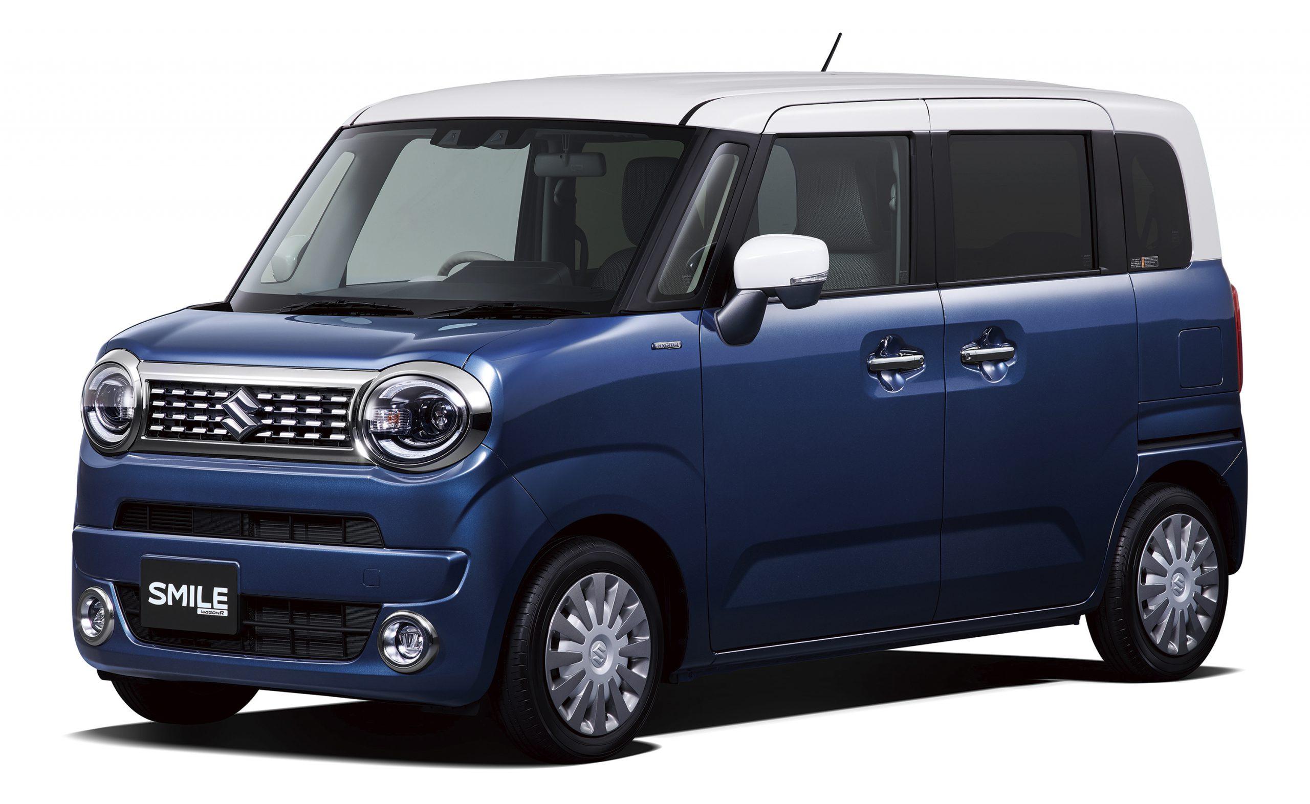 スズキ副代理店宝塚 ハリマモータースの展示車 wagonR SMILE